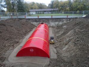Construction of Fire Suppression Reservoirs at 3 City of Ottawa Locations