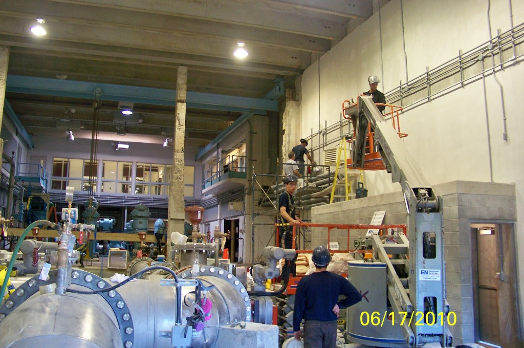 Wanapitei Water Treatment Plant Phase I Upgrades
