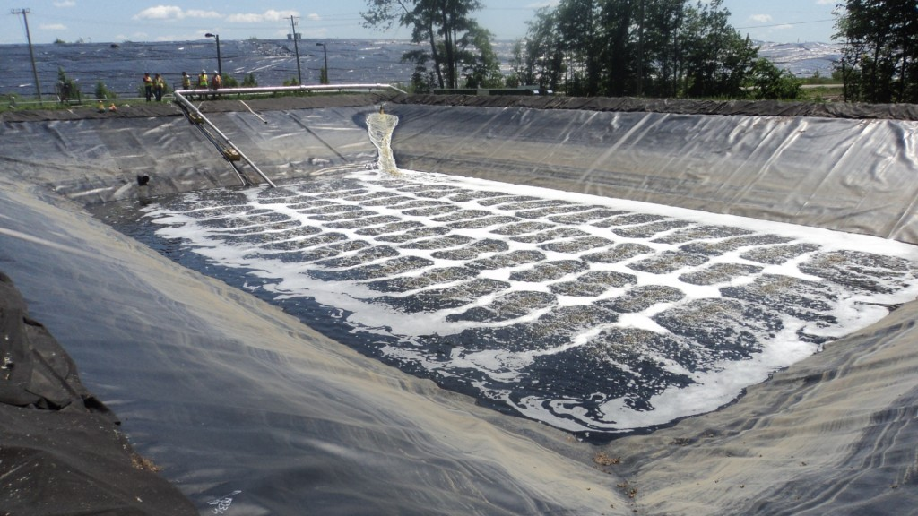 Interim Leachate Pre-Treatment System Trail Waste Facility