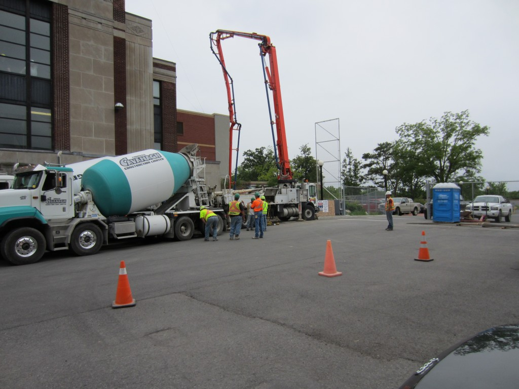 North Clear well Rehabilitation at the Lemieux Island Waste Water Plant